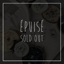Produits épuisés - Sold out