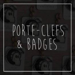 Porte-clefs & badges